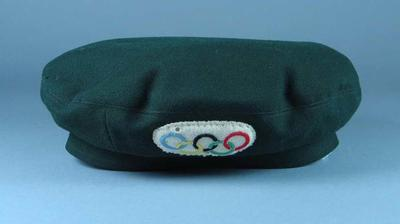 Beret - part of Official Chauffeur's uniform, 1956 Melbourne Olympic Games