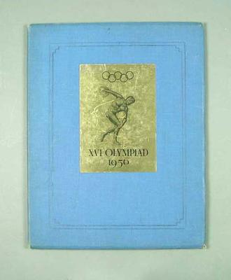 Book - Melbourne's Bid for the 1956 Olympic Games, contains letter from Prime Minister J B Chifley
