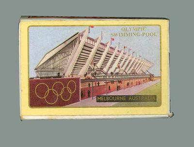 Boxed set Playing Cards -  Olympic Swimming Pool, Melbourne 1956 Games