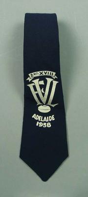 Tie - 2nd XVIII Victorian Football League, Adelaide, 1958