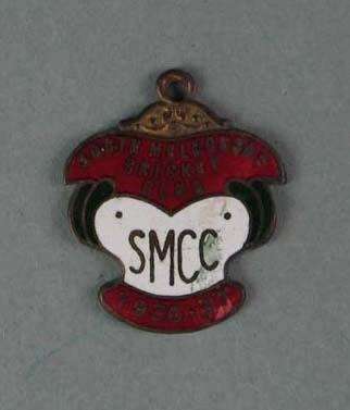 Membership medallion, South Melbourne Cricket Club - season 1936/37