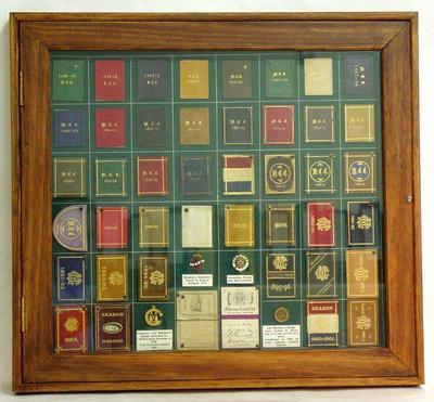 Melbourne Cricket Club membership tickets, 1860-1902