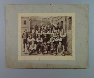 Photograph of Melbourne Football Club, Premiers 1900