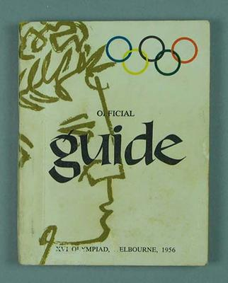 Booklet, Official Guide - 1956 Olympic Games