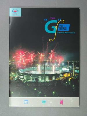 """Booklet, """"The G File"""" - a School Resource Kit"""