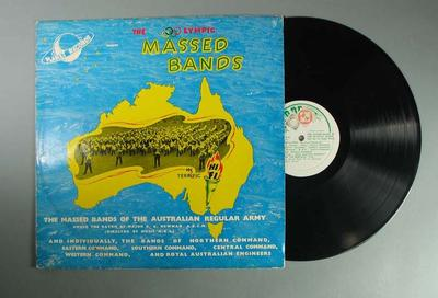 """Vinyl record, """"The Olympic Massed Bands"""""""