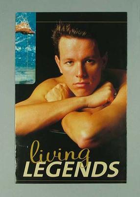 Brochure & poster, Kieren Perkins - 2000 Olympic Games Opening Ceremony