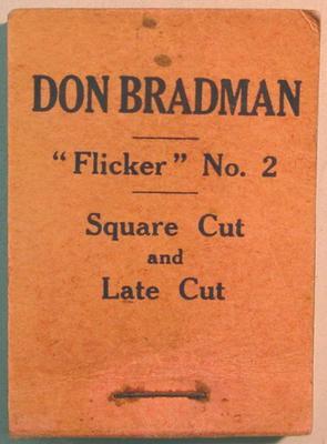 Flick book, Don Bradman