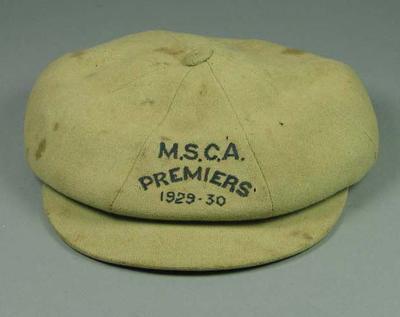 Cap, MSCA Premiers 1929-30