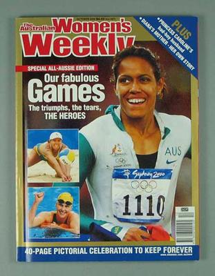 "Magazine, ""The Australian Women's Weekly"" Oct 2000"