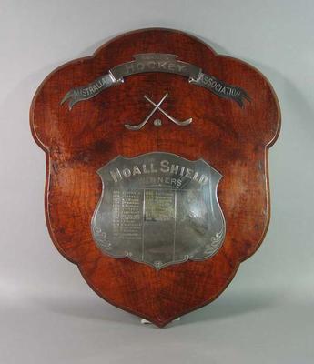 Noall Shield, awarded by Amateur Australian Hockey Association c1925-54