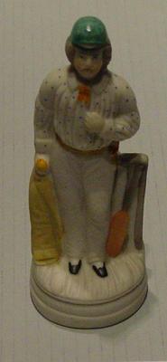 Bisque figurine of George Parr