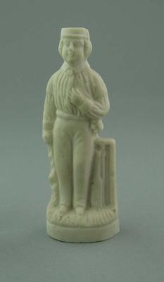 Figurine, depicts cricketer