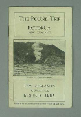 """Booklet, """"The Round Trip"""""""
