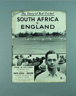 """Book, """"The Story of Test Cricket: South Africa v England"""""""