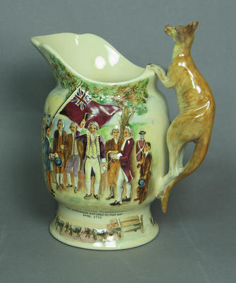 Musical Jug presented to Australian Touring Team, Nottingham June 1938 by A.R. Fielding