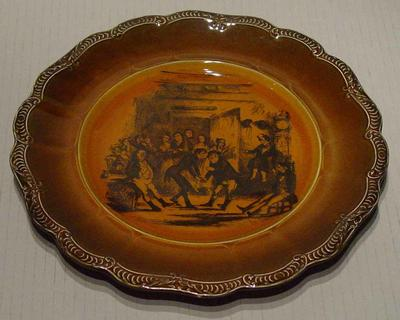 Plate:  'Mr Pickwick's return from the cricket match'