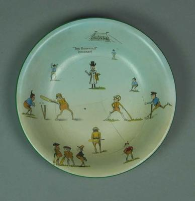 """Bowl, """"The Brownies (Cricket)"""""""