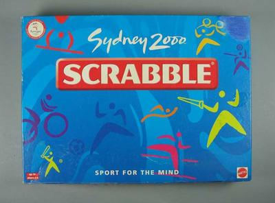 Board game, Sydney 2000 Olympic Games Scrabble