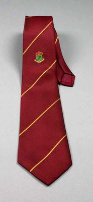 Tie -  worn by Neale Fraser, maker Trevira