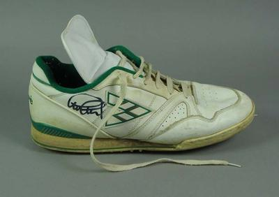 Pair of Mitre cricket boots signed by and worn by Graham Gooch, 1994/95 Ashes Series