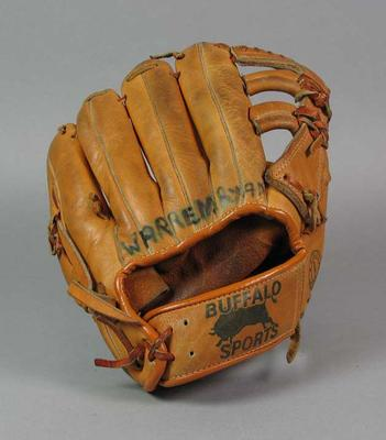 Softball glove, 'Buffalo Sports' brand