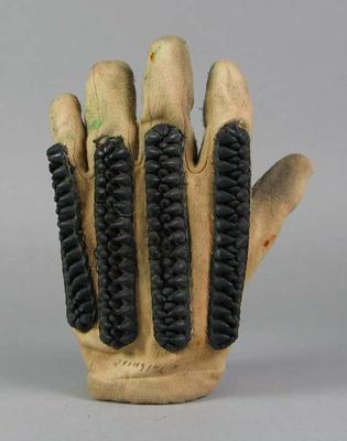 Pair of cricket gloves, used by Keith Tolhurst
