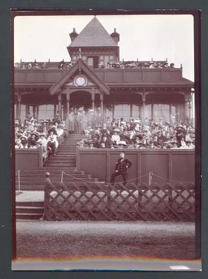 Photograph from Frank Laver's photograph album, Australian cricket tour to England - 1909