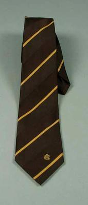 Tie -  worn by Neale Fraser with CTA insignia