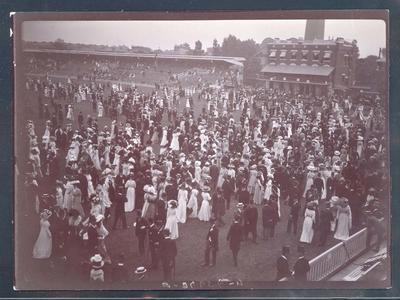 Photograph from Frank Laver's photograph album, Australian cricket tour to England - 1905