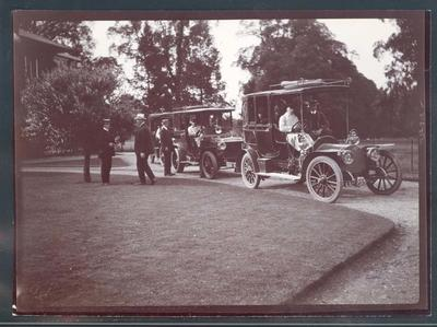 Photograph from Frank Laver's photograph album, Australian cricket tour to England - 1909