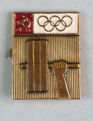 Badge, 1980 Olympic Games - Weightlifting