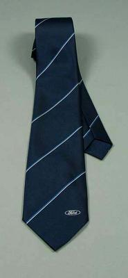 Tie -  worn by Neale Fraser with Ford logo