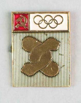 Badge, 1980 Olympic Games - Freestyle Wrestling
