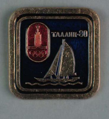 Badge, 1980 Olympic Games - Sailing