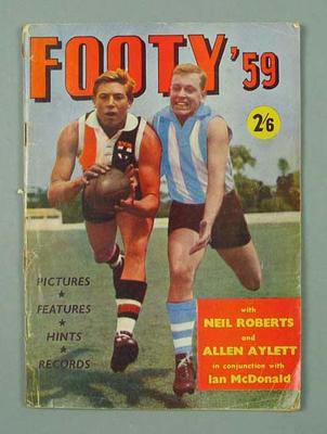 "Magazine, ""Footy '59"""