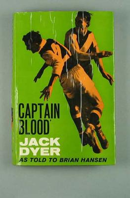 "Book, ""Captain Blood - Jack Dyer"""