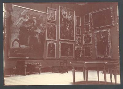 Art Gallery interior   -  Frank Laver Photograph Album collection