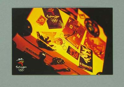 Postcard, Sydney 2000 Olympic Games Opening Ceremony audience kit