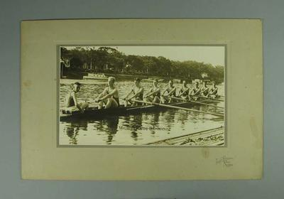 Photograph  - Victorian King's Cup Crew 1932, Winners of the Cup