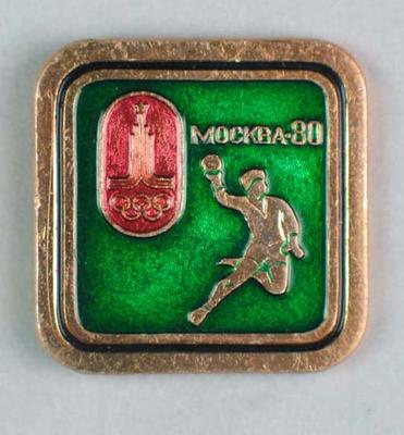 Badge, 1980 Olympic Games - Handball