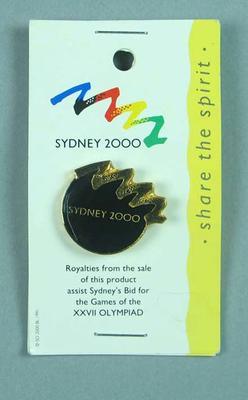 Stick pin, Sydney 2000 Olympic Games bid