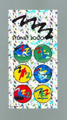 Stickers, Sydney 2000 Olympic Games bid
