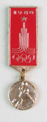 Badge, 1980 Olympic Games - Handball