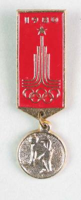 Badge, 1980 Olympic Games - Field Hockey