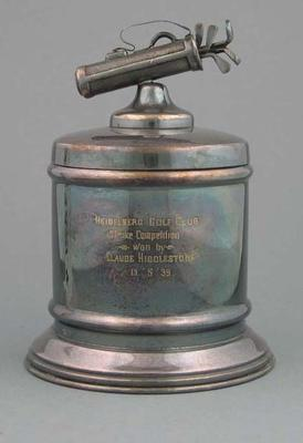Trophy, Heidelberg Golf Club Smoke Competition 1939