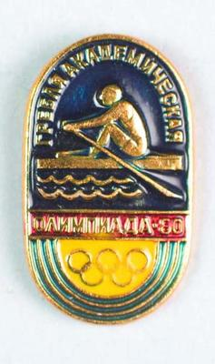 Badge, 1980 Olympic Games - Rowing