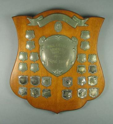 Trophy, Bill O'Brien Memorial Shield for Leading Boxing Trainer 1947-72
