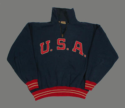 Tracksuit jacket - 1956 Melbourne Olympic Games - U.S.A. Olympic Team