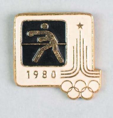 Badge, 1980 Olympic Games - Boxing